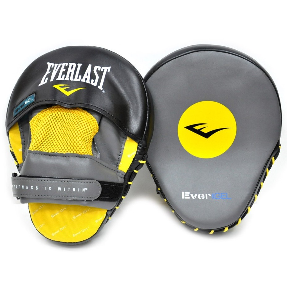 Everlast Лапы  Leather Evergel Mantis.Кожа