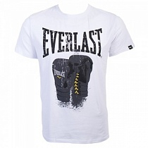 Everlast Футболка Logo Protex Gloves Белый